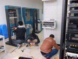 深圳罗湖水贝地铁站附近水贝国际珠宝交易中心办公室网络综合布线施工