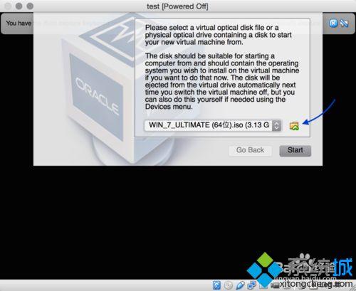 加载安装系统光盘映像