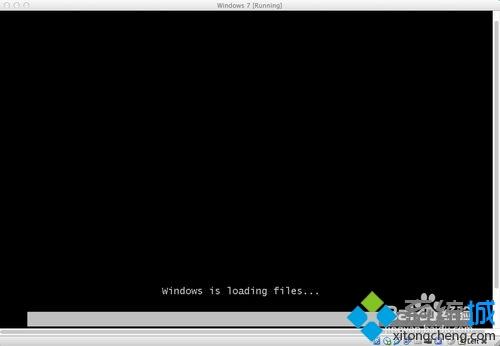 启动 Windows 7 的安装程序