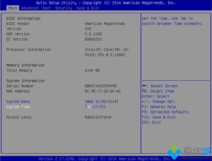 华硕笔记本bios utility ez mode设置图解以及切换成传统bios界面方法